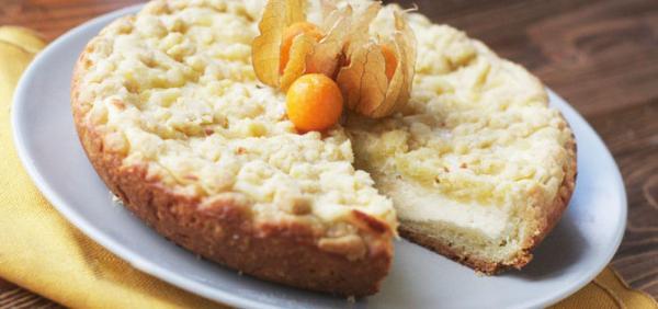 Творожный пирог в мультиварке рецепт пошагово